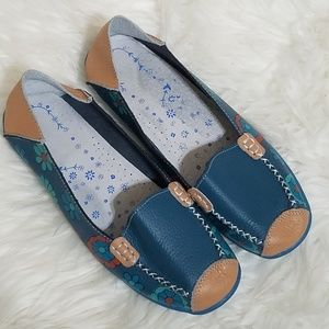 Labato Cool Driving Loafers Rubber Sole Sz9